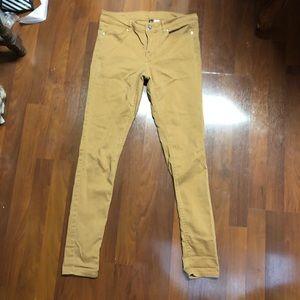H&M tan skinny pants